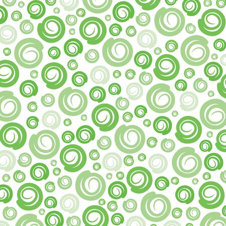 retro patterns: green swirl pattern background Illustration