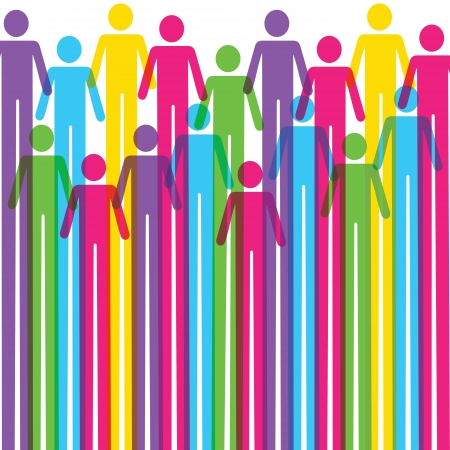 gender symbol:  Colorful man icon background stock