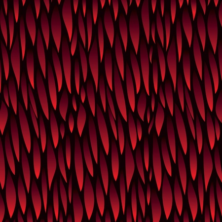 leaf red pattern background Stock Vector - 18053375