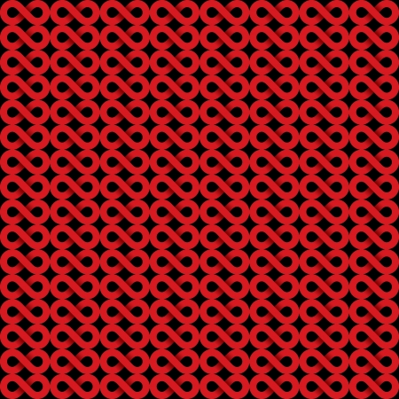 mishmash: abstract red infinity symbol background