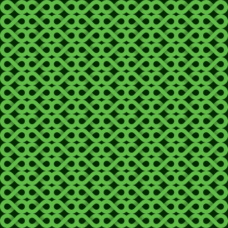 abstract green shape pattern Vector