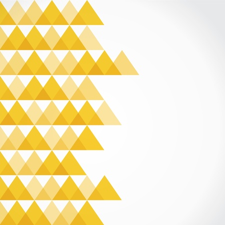Yellow triangle background stock vector Stock Vector - 18332249