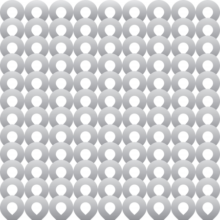 mishmash: abstract shape grey ring background