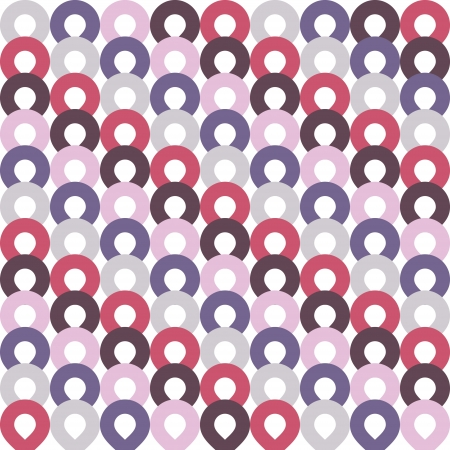 retro color ring pattern abstract Vector