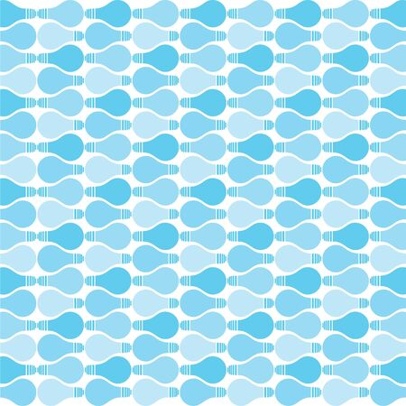 blue bulb pattern stock vector Stock Vector - 18398159