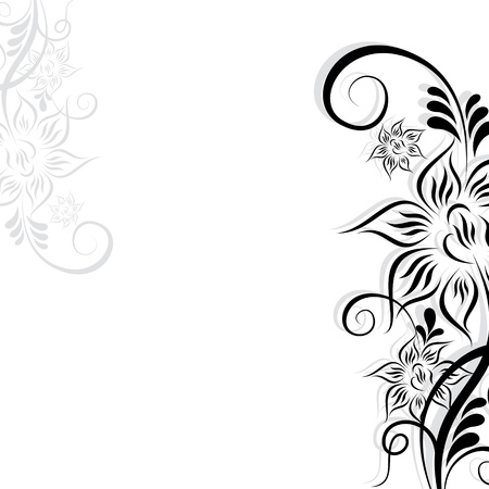 Abstract flower backgroundstock  Vector