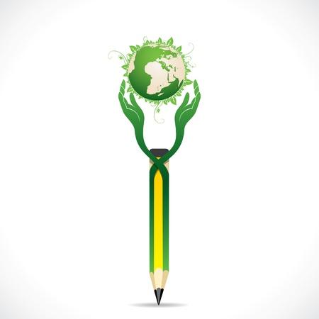 go green concept Stock Vector - 18988667