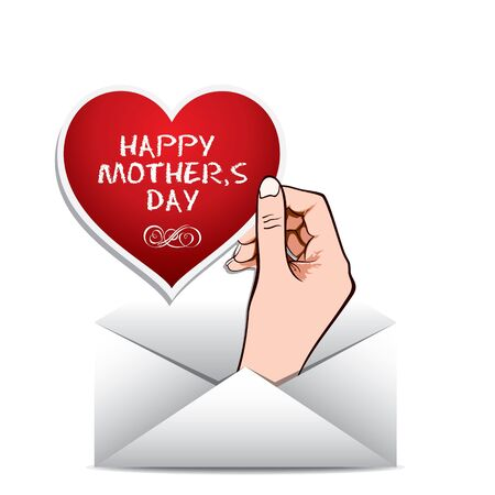 mothering: happy mothers day stock