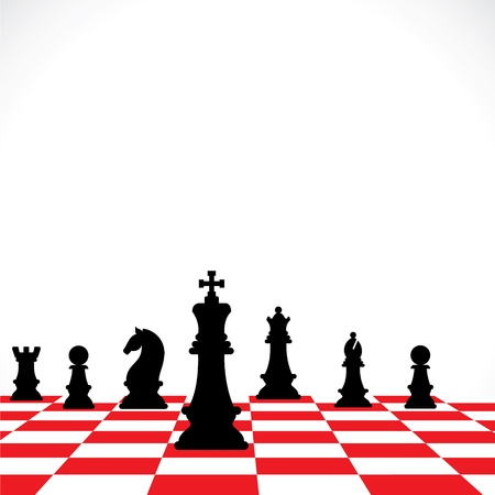 chess teamwork concept stock