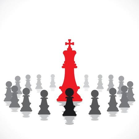 leadership concept stock Stock Vector - 18988599