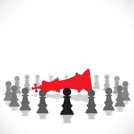 challenger: teamwork concept stock