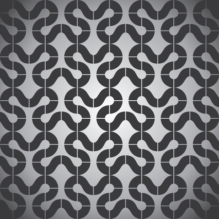 creative design pattern in black and white combination Vector