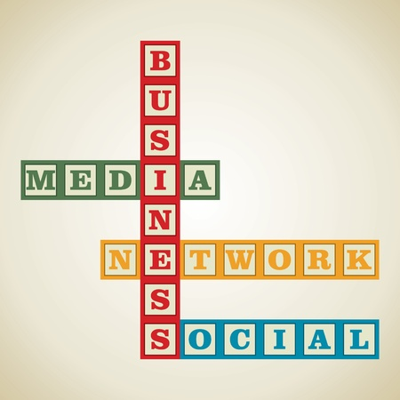 cost basis: business and social media related word