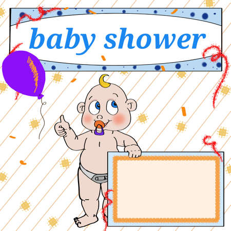 Baby shower icon.
