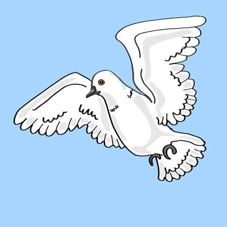 increased: White doves icon.