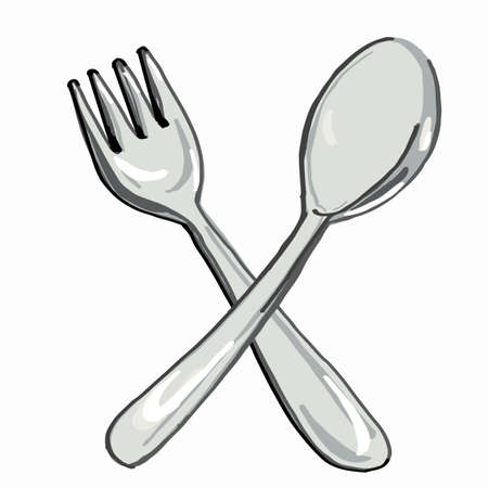 Spoon fork icon.