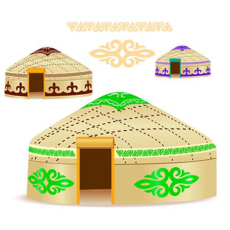 Yurt of nomads