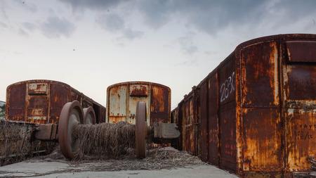 bogie: old bogie, train wheel