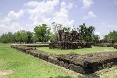 distric: Kuti Rishi(Arokayasala), Phimai historical park, Phimai distric, Thailand, built 11-12 century A.D.