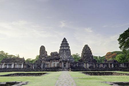 distric: Phimai historical park, Phimai distric, Thailand, built 11-12 century A.D.