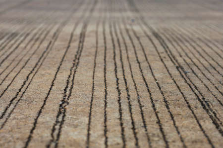 road surface: art and pattern of concrete road surface Stock Photo