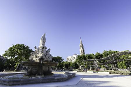 gaulle: esplanade charles de Gaulle, Nimes France