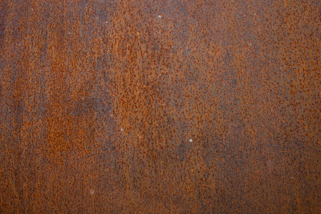 rust on steel pipe