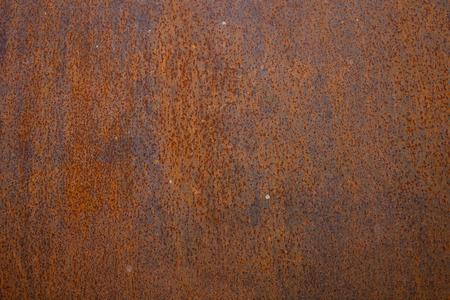 rust: rust on steel pipe