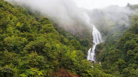 sapa: Silver waterfall, Sapa, Vietam