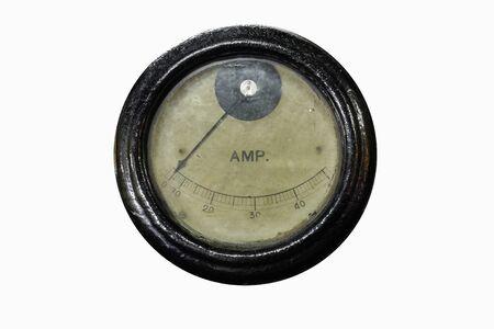 ampere: Old ammeter