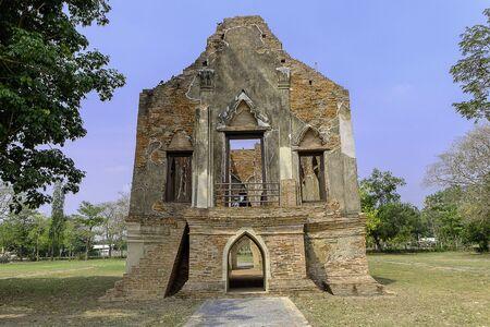 ang thong: kham yart  palace, Ang Thong Province Thailand, 1460 Editorial