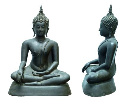 dvaravati: buddha image Stock Photo