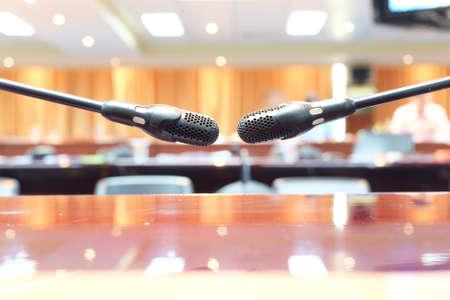 honour: microphone, meeting room, Honour speech