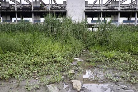 deserted: deserted building
