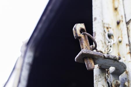 dowel: steel rust, dowel pin for lock bogie door