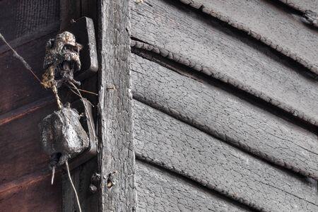 quemado: El equipo el�ctrico quemado Foto de archivo