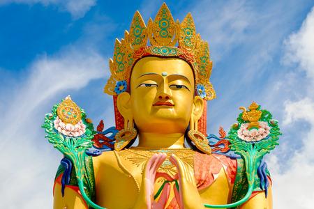 future buddha or Maitreya Buddha 28th at Diskit gompa, Diskit village, India, 1420