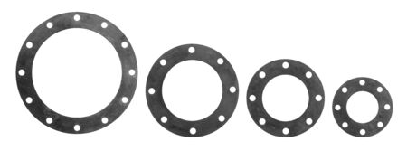 flange: different size of flange rubber for water works