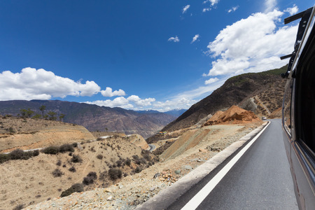 taget: road to destination Stock Photo