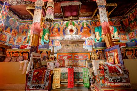 Future buddha or Maitreya Buddha 28th at Samtanling Monastery(150 years ago) , Sumer village, India