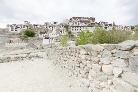 gelugpa: Thiksey Gompa, Gelug-pa, Ladakh, India Stock Photo