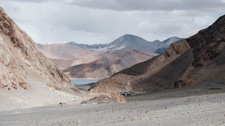 km: route to Pangong Lake(Tso),wide 6-7 km, long 130 km, 30% of area in India and 70 in China