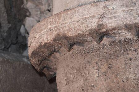 corrosion: bolts corrosion at flang water pipe Stock Photo