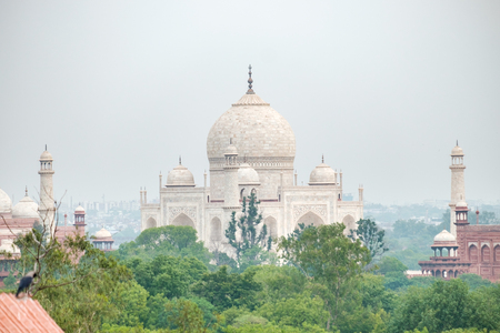 the world heritage: morning time view of taj mahal World Heritage Site ,Agra, India, 1592