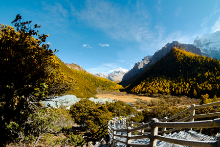 signify: Yanding Nature Reserve, Channa Dorje(Tibet) or Xianuoduoji(China) is signify power, 5958 msl, Tibent call this land Nyiden, China