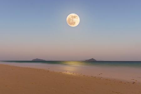 superannuated: super moon at Bulone le island, Satun province, Thailand