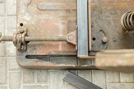 steel: steel cutter