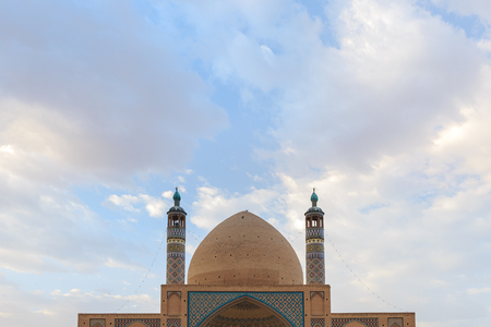 aqa: Aqa Bozorg Mosque, Kashan, Iran