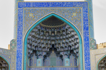 morning time view of Nash-e Jahan square, Esfahan, Iran