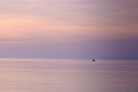 small boat in the sea, Rayong province, Thailand